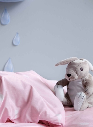 Hibboux 160x220 Rain Nevresim + Yastık Kılıfı - Pink Pembe